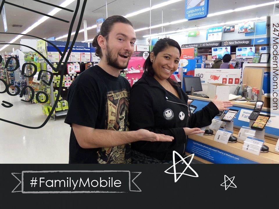 #Shop #FamilyMobile #CollectiveBias Michelle and Trevor