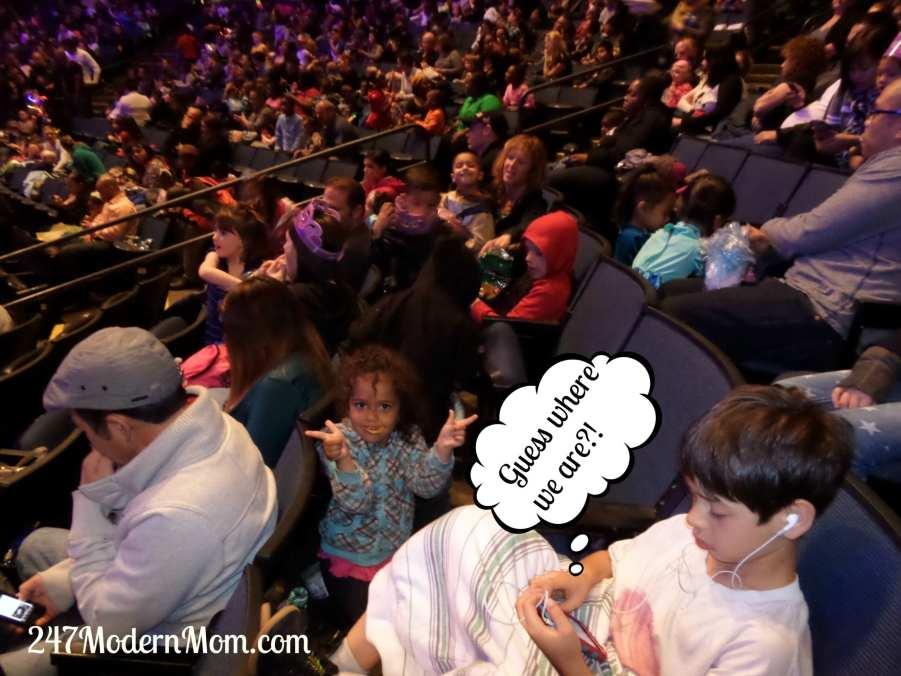 #sponsored Disney on Ice full house