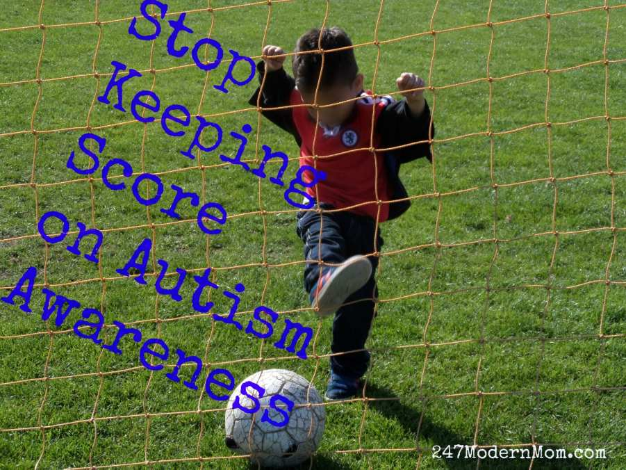 Stop Keeping Score on Autism Awareness