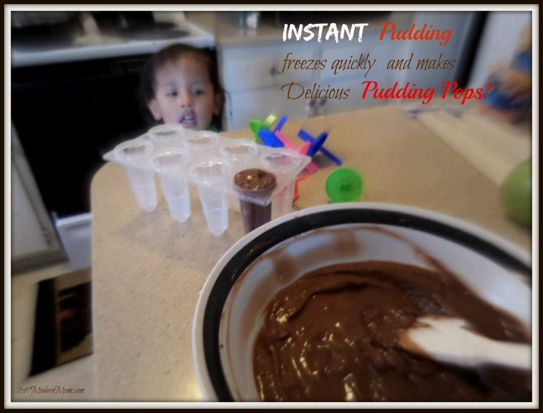 #shop Quick Snack Ideas Instant Pudding Pops