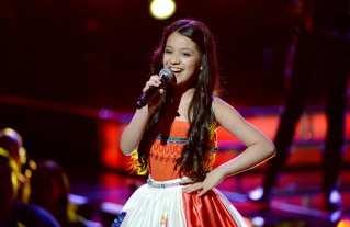 Leslie Mendoza -La Voz Kids Season 2 Finalist - (Photo by: Alejandro Fenice/Telemundo) #LVKBloggers #LVKParty