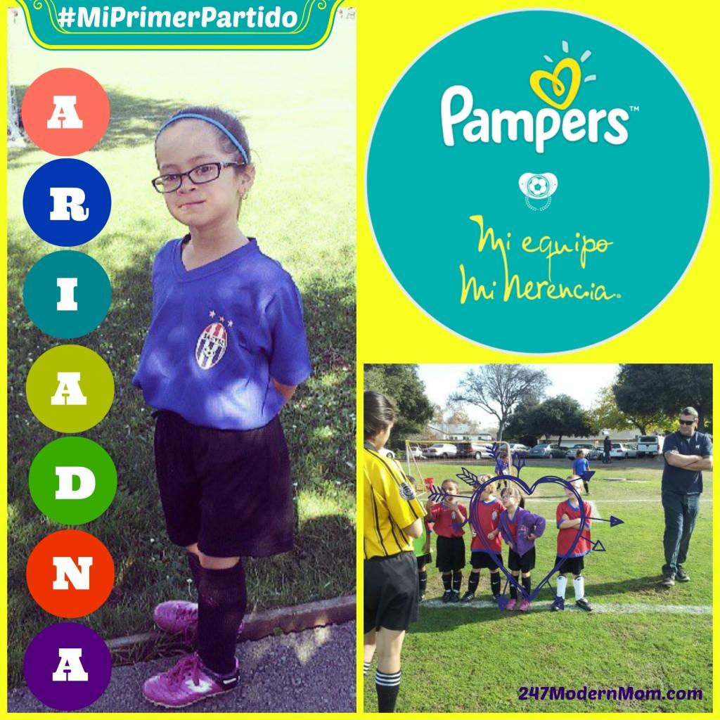 #ad #MiPrimerPartido Ariadna