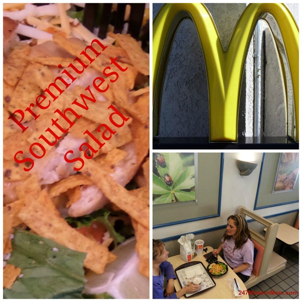 McDonald's Birthday Salad #ad