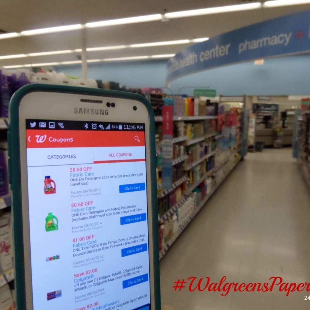 Walgreens Paperless Coupons #shop #collectivebias