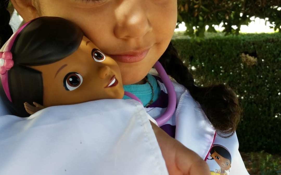 Kaitlyn Dreams Big In Her New Doc McStuffins Costume
