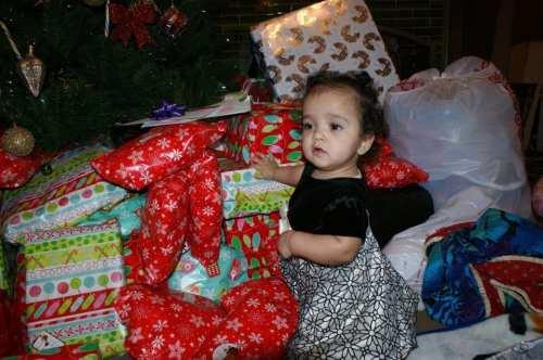 Kaitlyn's First Christmas