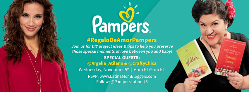 """Join Us for Pampers ' """"Regalo de Amor"""" Twitter Party #RegaloDeAmorPampers"""