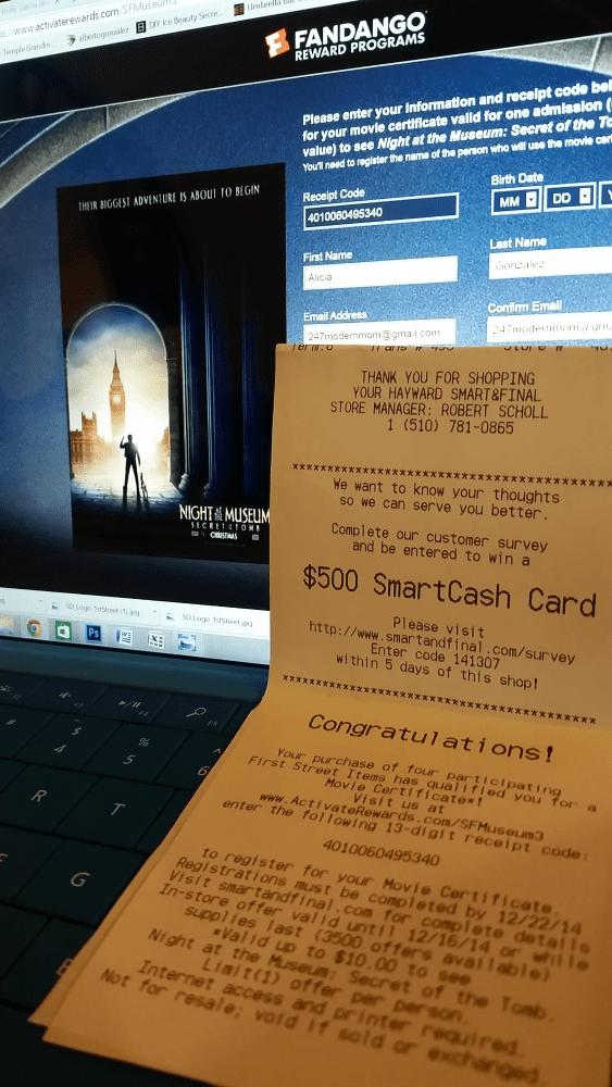 #ChooseSmart Recipe Movie Reward