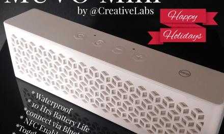 Creative Gifts For Indoor Fun All Winter Long: Wireless & Waterproof Speaker Giveaway