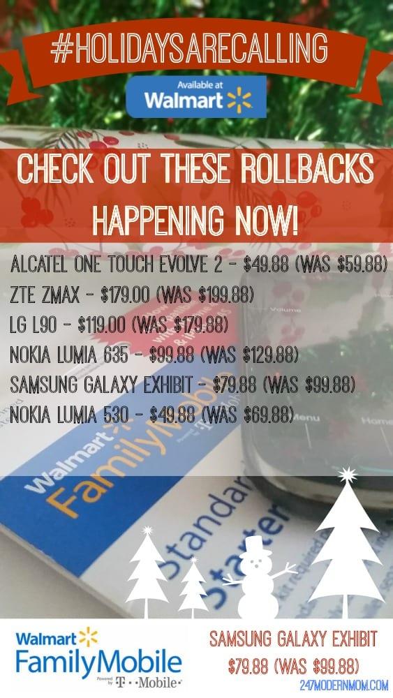 Walmart Unlimited Plans Rollbacks #AD.j