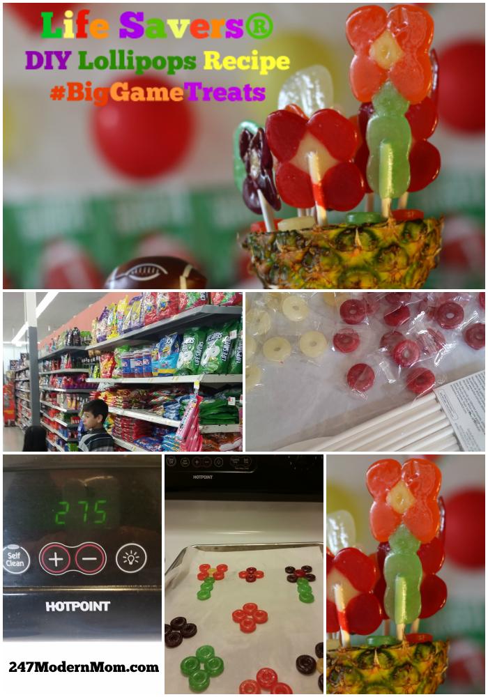 Big-Game-Lollipop Collage