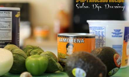 3-In-1 Avocado Recipe For Those Fridays Leading Up To Easter: Salsa, Dip, & Dressing