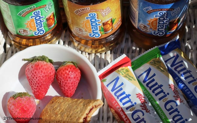 Snapple ® Straight Up™ Tea: Pick Your Sweet Spot