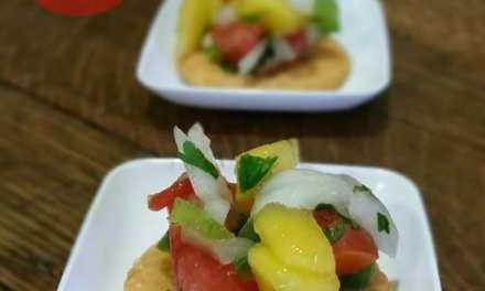 Spice Up Your Cracker With This Mango Pico de Gallo Recipe: RITZ® Snackify Challenge Instagram Contest