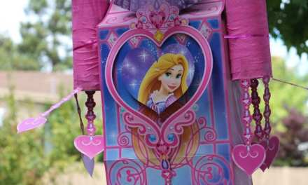 Disney Princess Birthday: DIY Castle Tutorial + Piñata Style Treats Storage
