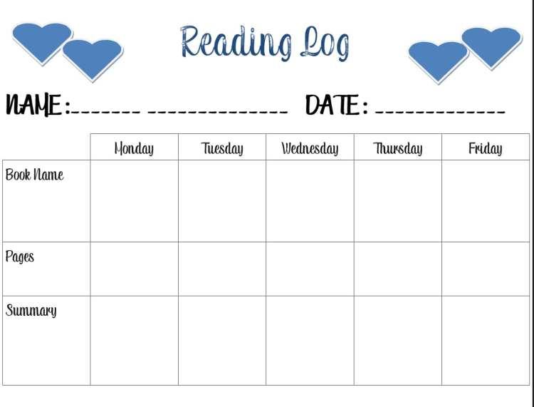 Reading-Log-Homework-Station-ad