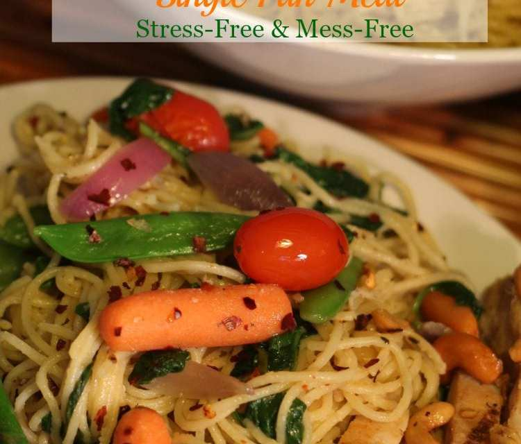 {ad} No Time To Cook? No Worries: This Pasta Recipe with Grilled Chicken & Fresh Vegetable Medley Is Stress-Free & Mess-Free
