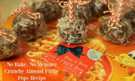 No Bake Recipe: Crunchy Almond Fudge Pops