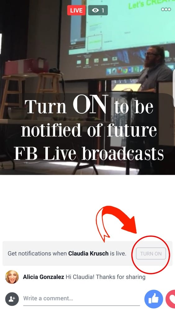 Facebook-Live-Notifications