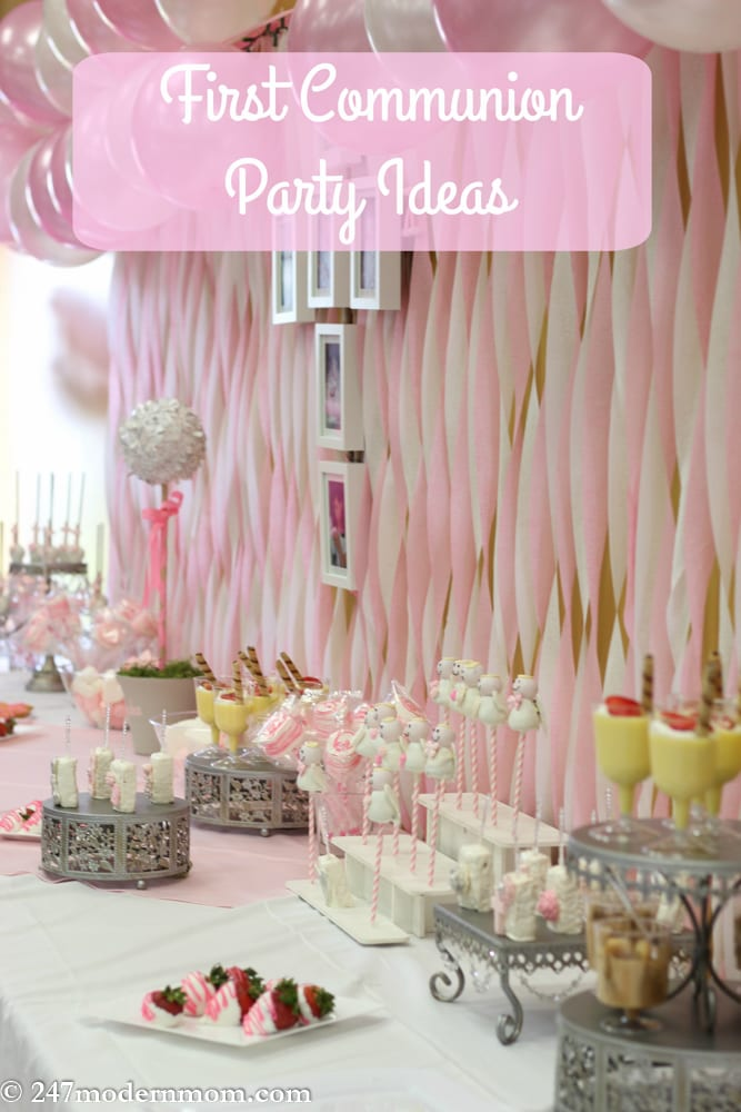 First Communion Party Ideas Hero