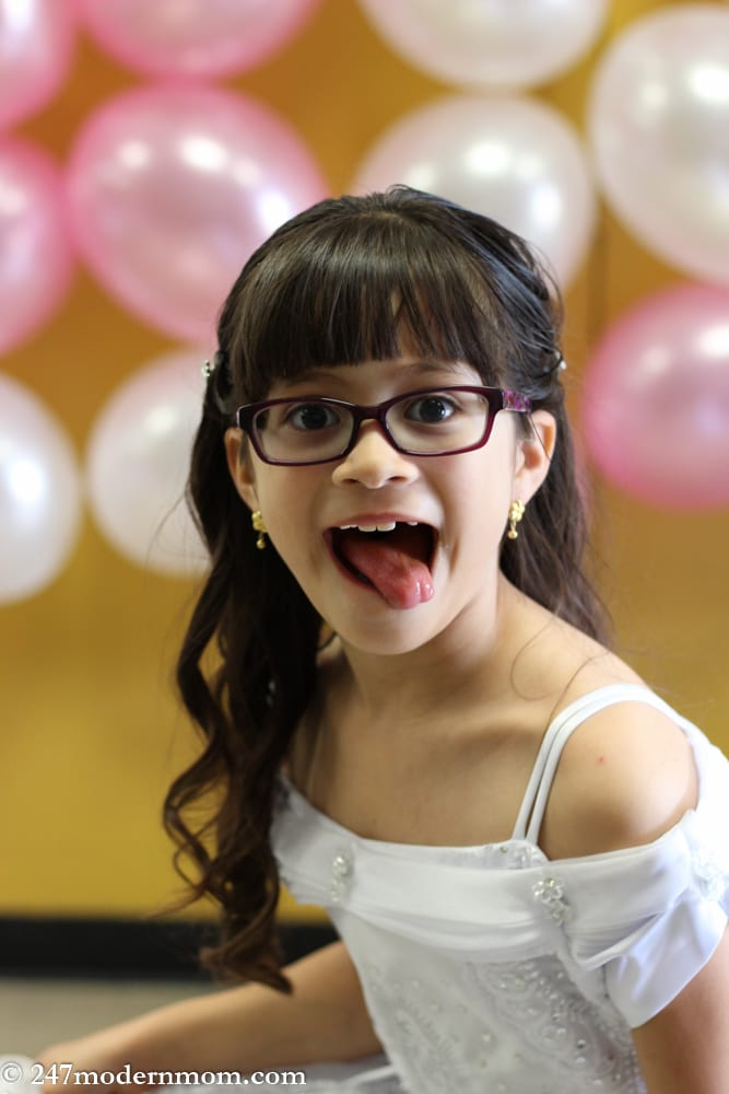 First Communion Party Ideas silly girl