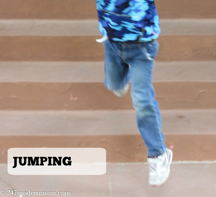 Special Needs Parenting-jumping