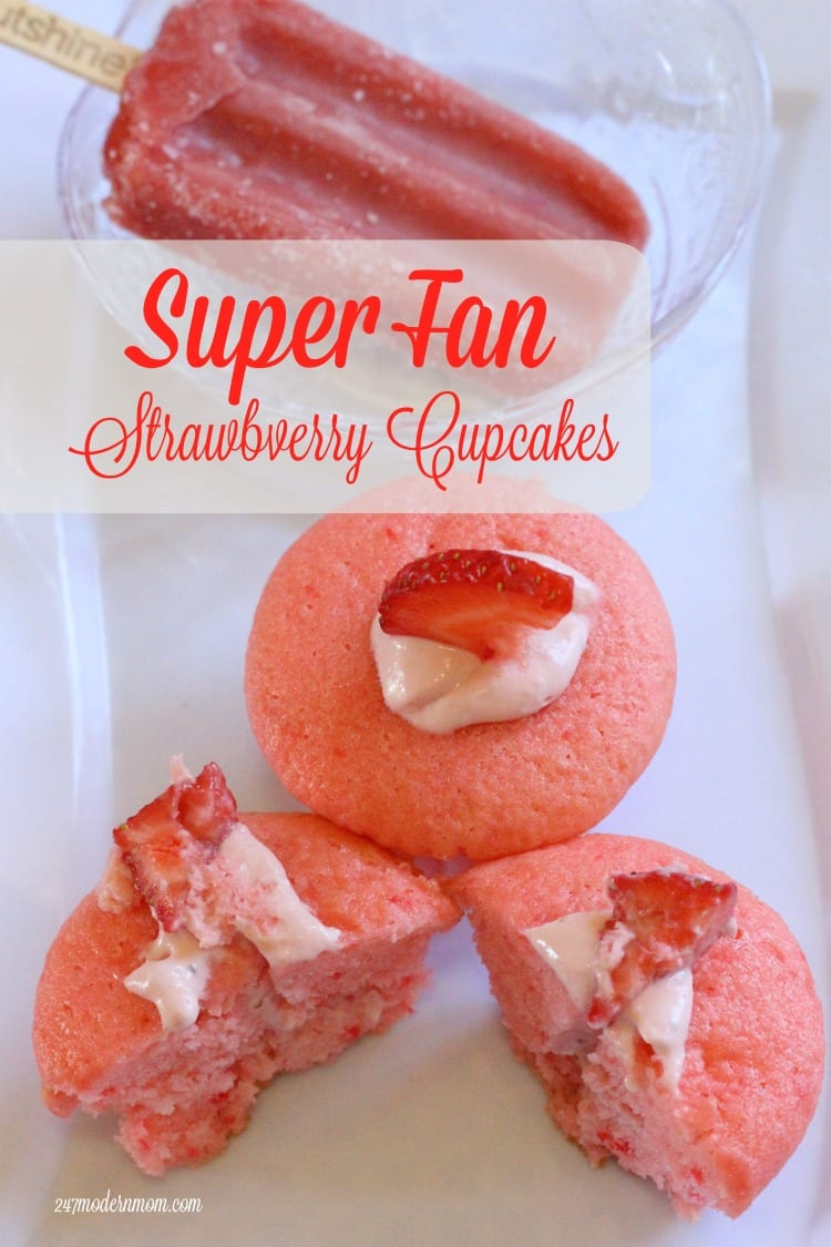 Strawberry Cupcakes Hero