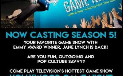 Jane Lynch & Hollywood GameNight: CASTING CALL