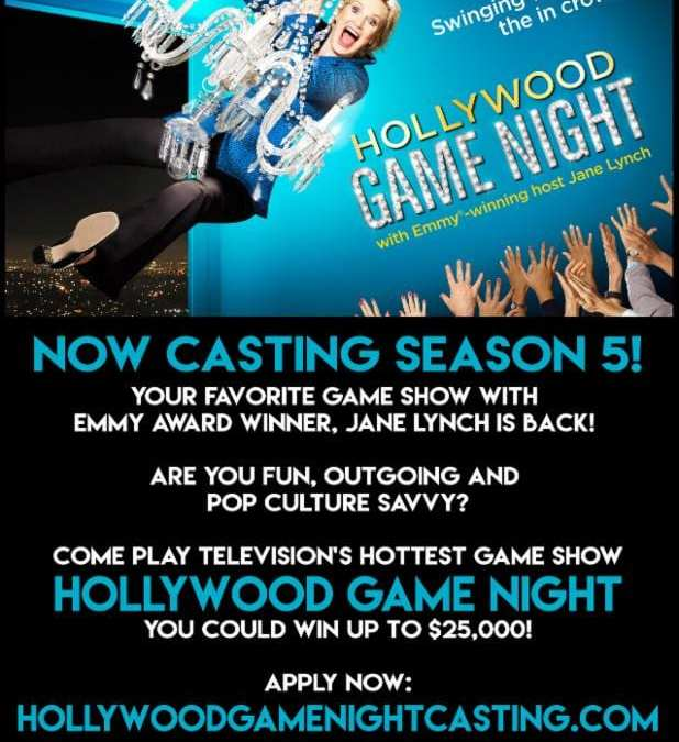 Jane Lynch & Hollywood GameNight: CASTING CALL