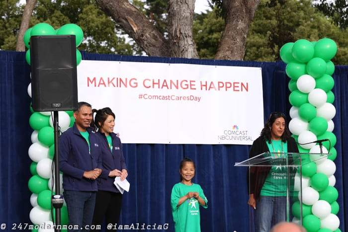 Comcast Cares Day Announcements