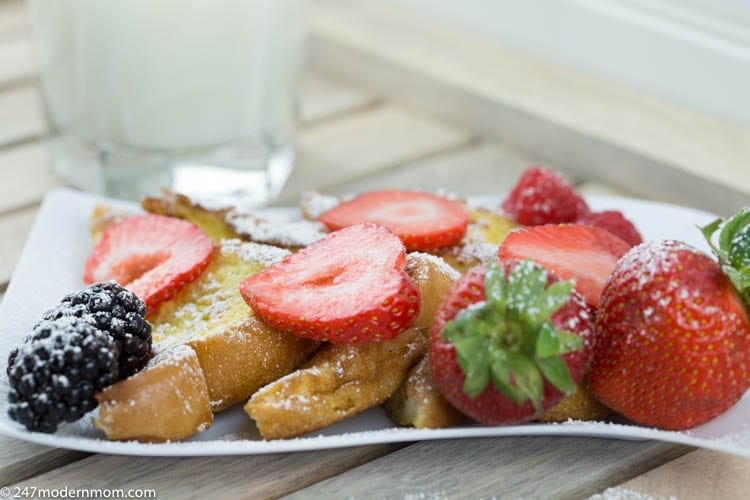 French toast recipe with fresh fruit