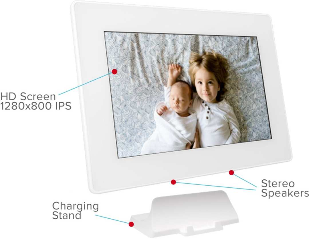 Photospring digital photo frame