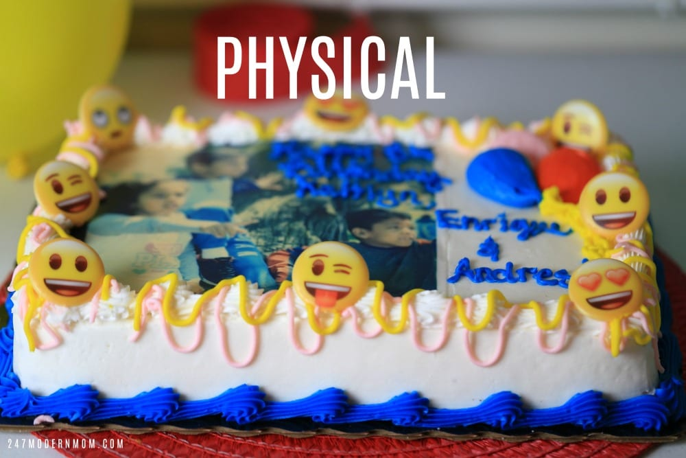 physical developmental milestones