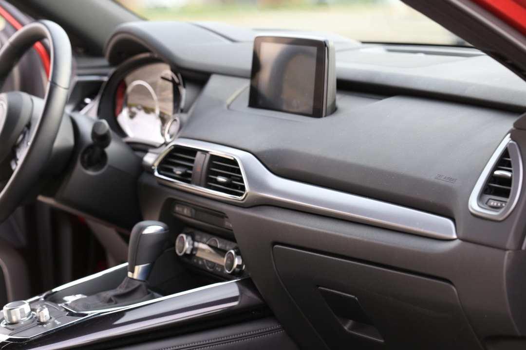 Mazda CX-9 Review Interior