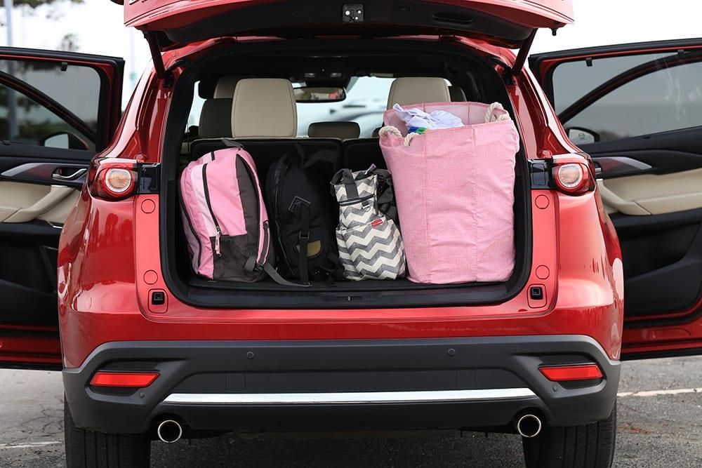 Mazda CX-9 Review Full Trunk