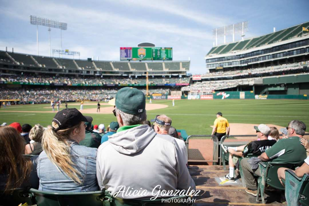 Oakland Athletics celebrates Cesar Chavez Day Stadium