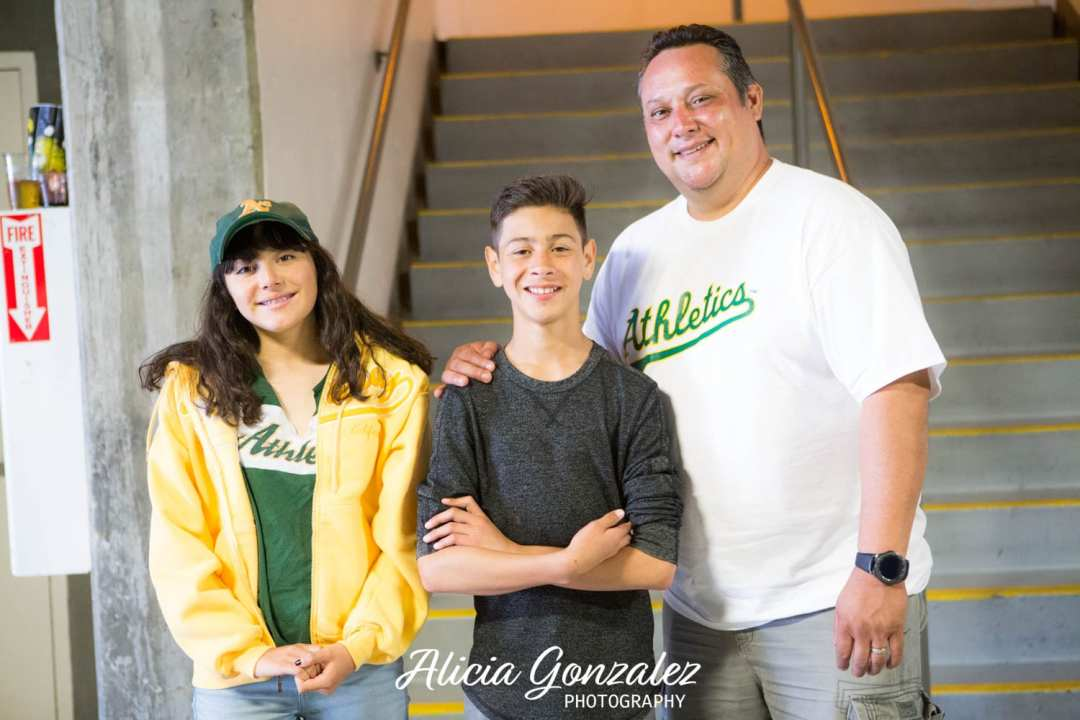 Oakland Athletics celebrates Cesar Chavez Day Rudy Chavez