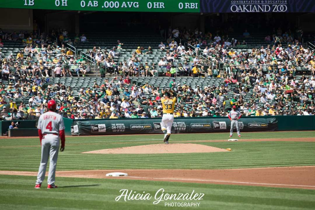 Oakland Athletics celebrates Cesar Chavez Day