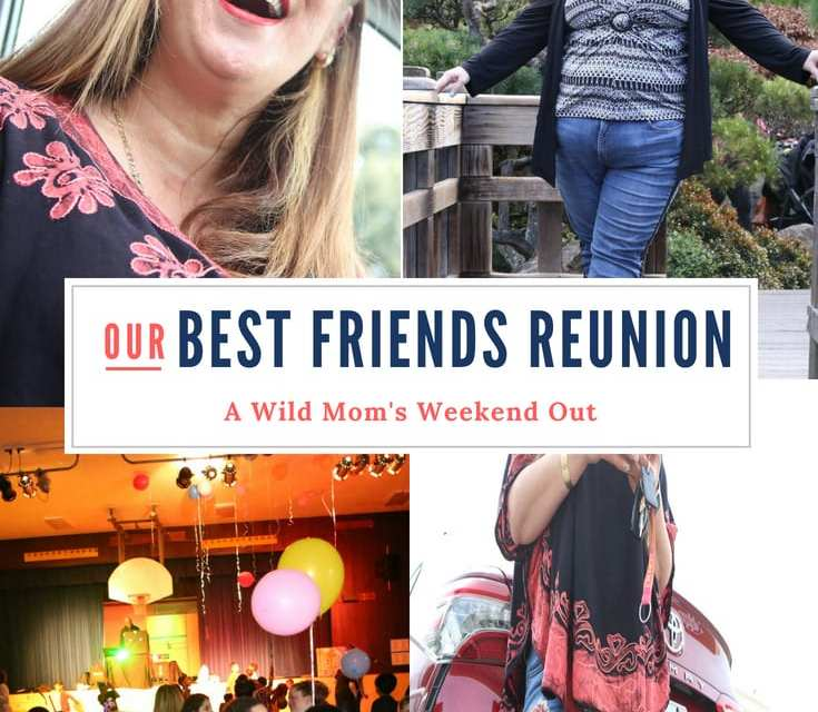 Best Friends Reunion in the Toyota Camry XSE: A Wild Mom's Weekend Out