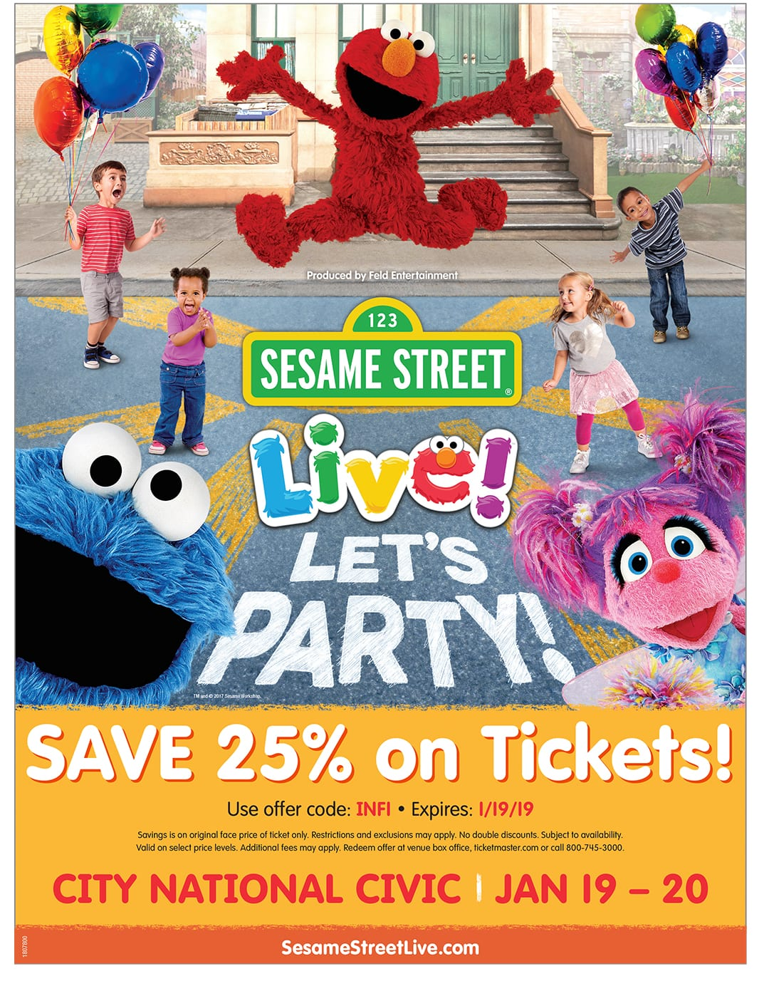 Sesame Street Live Bay Area