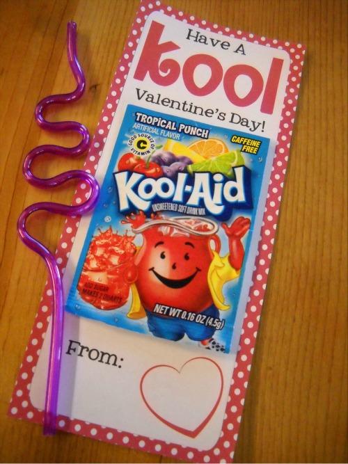 Free Valentine Kool Aid Printable 247 Moms