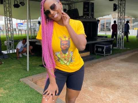 DJ Cuppy's Epic Reaction After Taking Sachet Water For The First Time (Video)