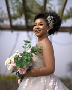 'What Is Life Without Love' – Tacha Says As She Plays Dress Up As a Bride