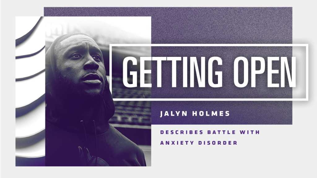 Jalyn Holmes Describes Battle with Anxiety