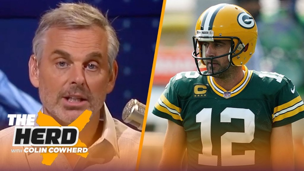 Colin on Aaron Rodgers' moody approach to...