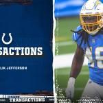 Colts sign LB Malik Jefferson in 2021 Free Agency