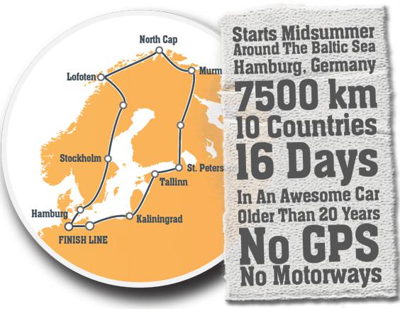 Abenteuer Rally Baltic Sea Circle