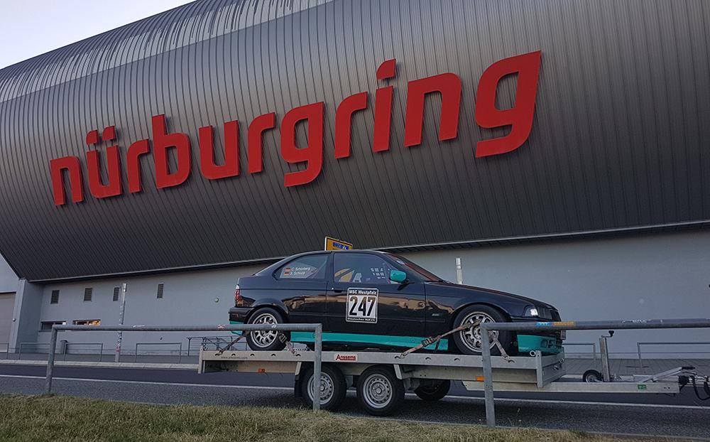 Rennwagen Anhängercenter Leonberg Nürburgring