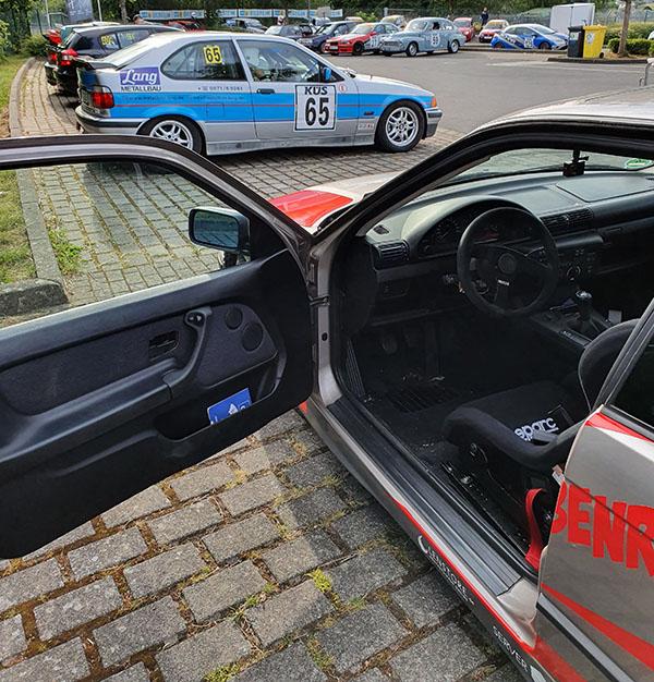 Hannelore BMW E36 Startaufstellung GLP