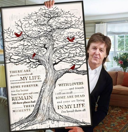 old tree poster poster canvas